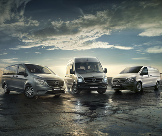 Mercedes-Benz Van Model Range